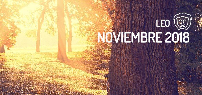 Horóscopo De Leo Para Noviembre 2018 Wemystic