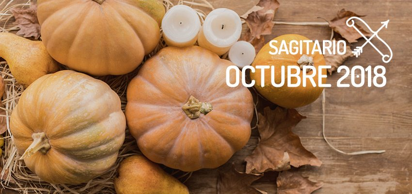 Horóscopo de Sagitario para Octubre