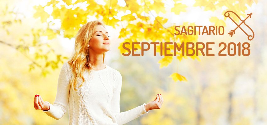 Horóscopo de Sagitario para Septiembre