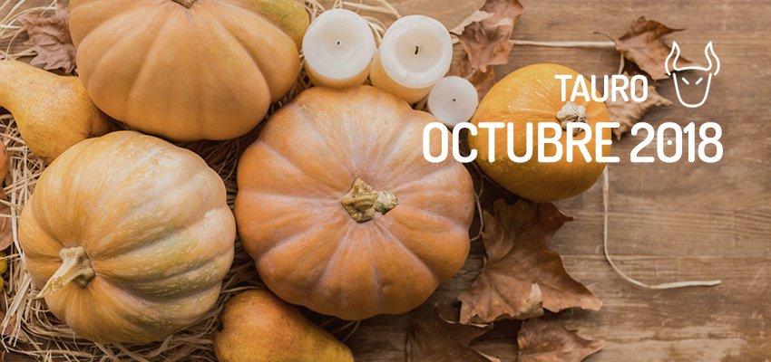Horóscopo de Tauro para Octubre