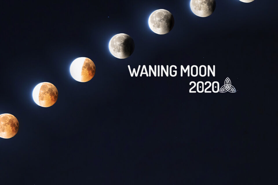 Calendar of the Waning Moon in 2019 - WeMystic