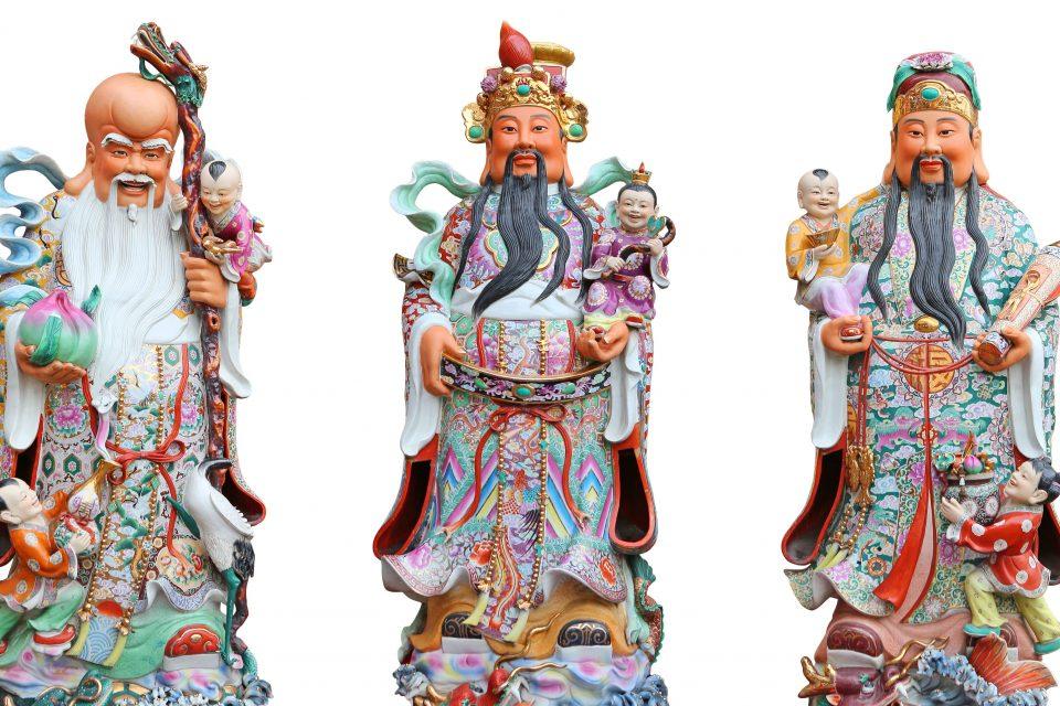 Los tres dioses de la prosperidad en el Feng Shui - WeMystic