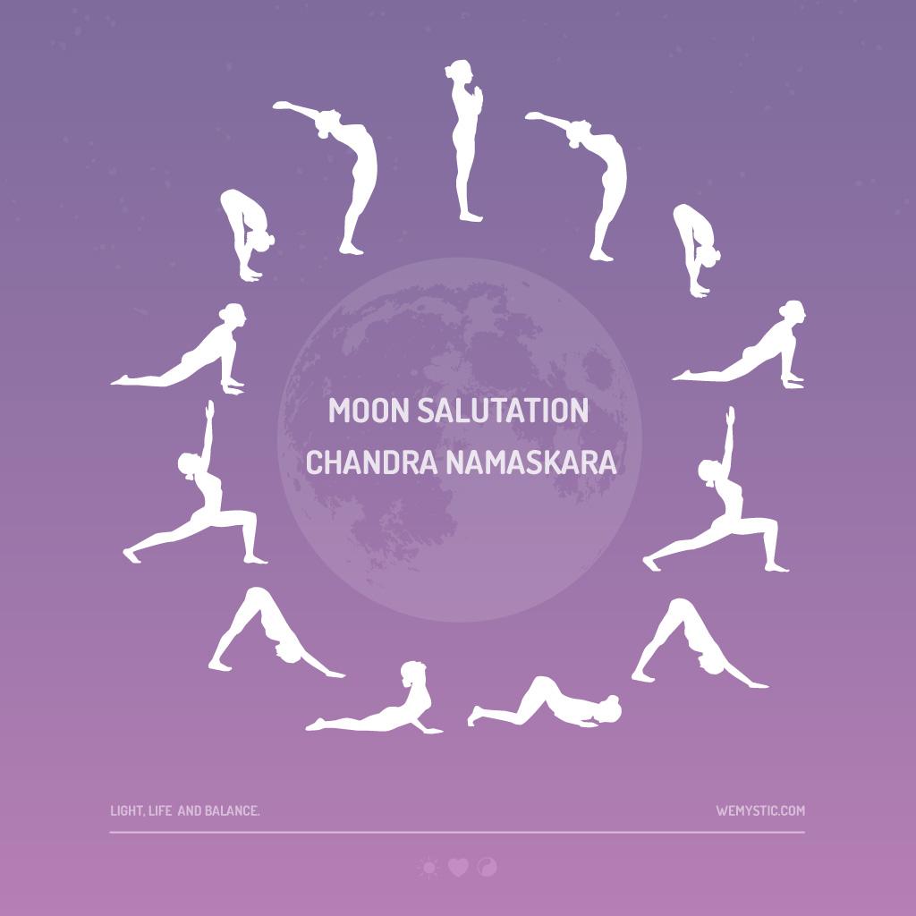Moon Salutation How To Master Chandra Namaskar Wemystic