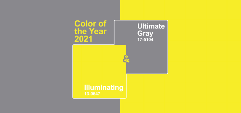 Pantone Color 2021: Ultimate Gray and Illuminating - WeMystic