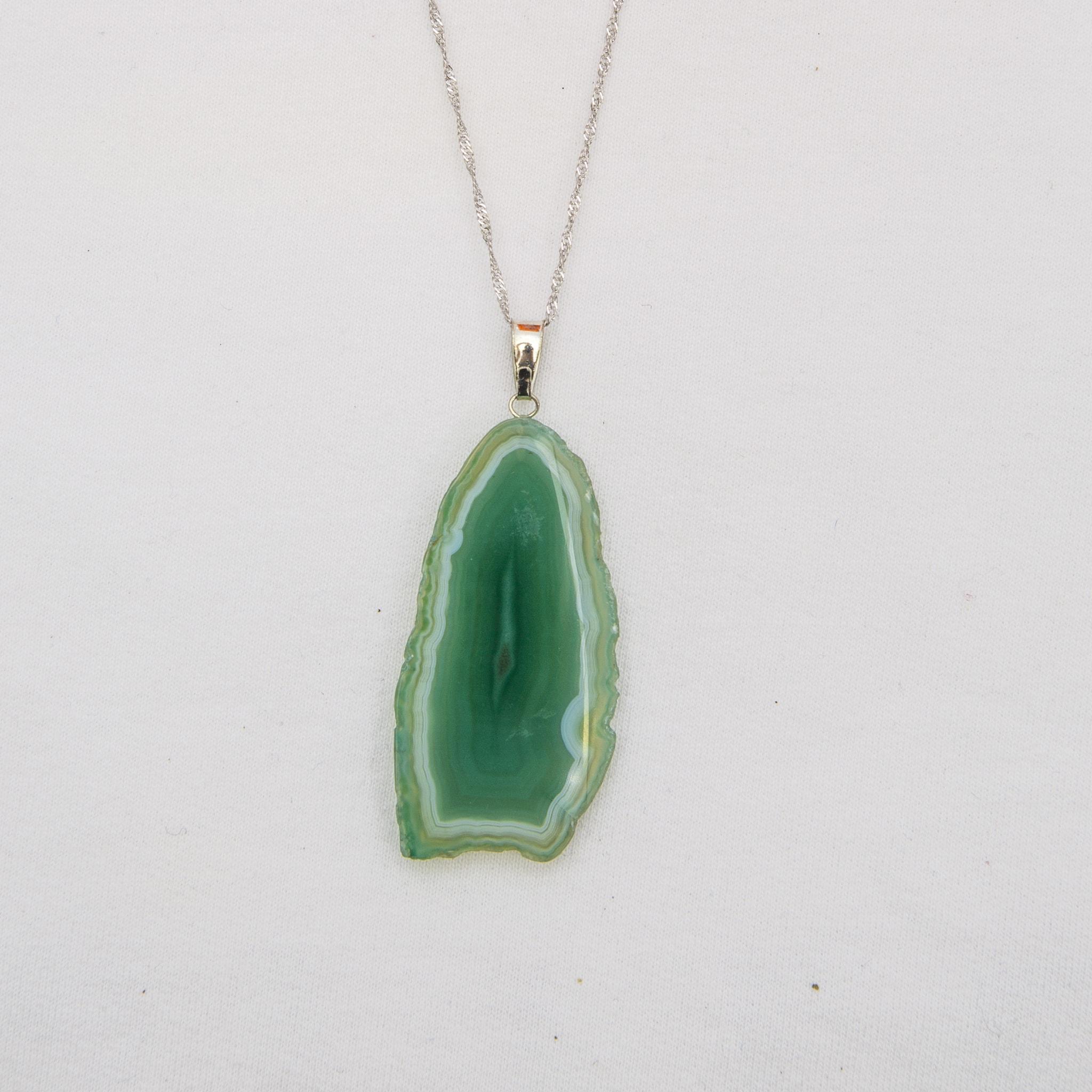 Pedra Ágata Verde
